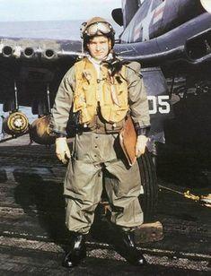 WWII Corsair Pilot