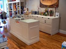 Counter! Interior Decorations - Retail Store - Shabby Chic - Display Fixtures Counters 1