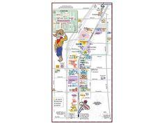 Las Vegas Strip  las vegas strip distance map source http