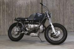 BMW R100 Scrambler by 654 Motors #motorcycles #scrambler #motos   caferacerpasion.com
