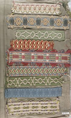 ¤ Textile Sample Book. Manufactory: Morant and Co. Date: 18th–19th century Culture: British, London