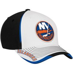Reebok New York Islanders Center Ice Second Season Flex Hat - Black White. L c9388fb40e46