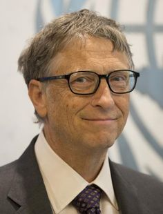 Bill Gates at the New Sustainable Development Goals meeting at the United Nations Headquarters in New York City on Sept. 25, 2015.