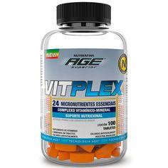 Vitplex 100 Tabletes Nutrilatina Age :: UniNatural