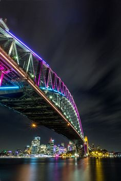 Beautiful Harbour Bridge,vivid,my photography,jks this photography's awesome and better then mine