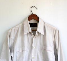 vintage 1970s men's shirt Medium Western by Luncheonettevintage