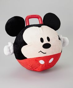 Loving this Mickey Plush Hopper on #zulily! #zulilyfinds