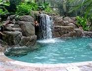 Specialties: ALL natural pool & SPA is a licensed and insured pool and SPA residential and commercial contractor. Service and repair center for ALL your pool and SPA desires and needs. Pool Spa, My Pool, Swimming Pools Backyard, Swimming Ponds, Inground Pool Designs, Swimming Pool Designs, Swimming Pool Architecture, Above Ground Pool Landscaping, Pool Images