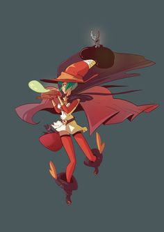 Witch by Djetho on deviantART