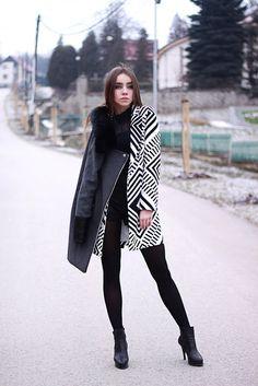 Predsavzatie 2016!♥ People Around The World, Goth, Fall Winter, Bodysuit, Black And White, Sexy, Minimal, Style, Fashion