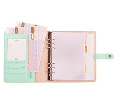 Get organised with this #kikkiK Mint Personal Planner #PlannerLove #Planners #stationery