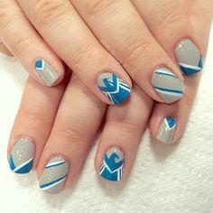 Agents of SHIELD nail art