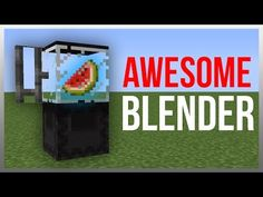 Minecraft 1.12: Redstone Tutorial - Working Blender! - YouTube
