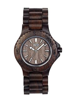 Natural wooden watches by WeWOOD. They plant a tree for every watch purchase.