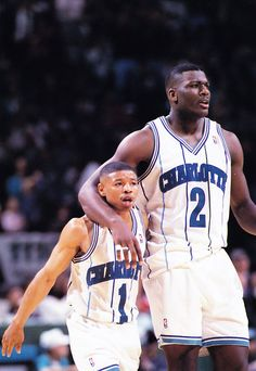 Larry Johnson and Muggsy Bogues