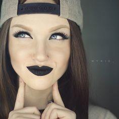 Dark Skater Girl #Beauty #Makeup