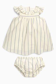 Striped Dress & Bloomer Set | Next USA