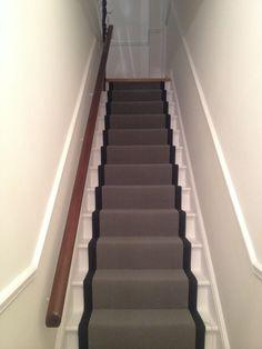 Beau Lovely Grey Stair Runner