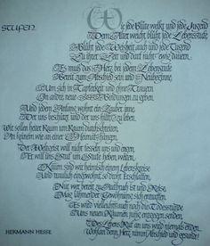 Hermann hesse glasperlenspiel gedicht stufen