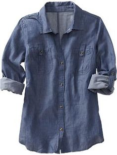Love Chambray shirts but don't know how much I'd actually wear one. May try out this inexpensive option.