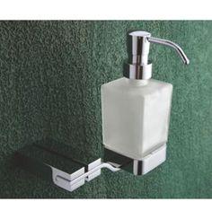 Perk Zonda Liquid Soap Dispenser Of 157 x 162 x 134 MM In Chrome Finish Soap Dispensers, Liquid Soap, Chrome Finish, Plumbing, Basin