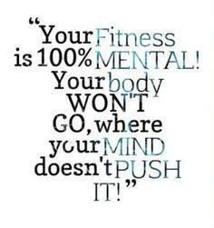 Mental strength!
