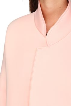 Ewa neoprene coat from Suncoo on MonShowroom.com
