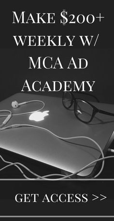Learn MCA Marketing skills that can earn 200+ a week - all while you work from home.  Get access to the MCA Ad Academy that will provide all the tools for you to go start making weekly income with Motor Club of America.   **remember, results reflect the amount of action you take**