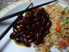 Korean Spiced Kidney Beans