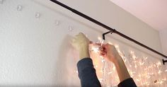 """Looking to spruce up your bedroom? This is the perfect creative solutionto turning a blank wall space into a fun, flirty feature. Nastazsa from YouTube channel """"LagunaBeachLove10″ shows us how to make a beautiful DIY Light Up Headboard to hang behind your bed. Nastazsa makes one to fit behind her full-size bed, but you can... View Article"""