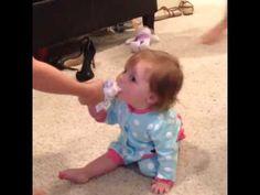 Copeland quinn begging for Icecream aww so cute
