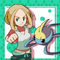 Pokemon Kalos, Pokemon Live, Gym Leaders, Female Characters, Fictional Characters, Weird Creatures, Anime, Drawings, Nerd
