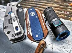EDC Kit: The Blue, Black and Silver
