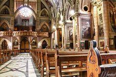 Interior da Basilica de Santo Antonio do Embare - Santos - Sao Paulo