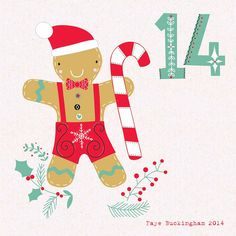 Day 14 Christmas Advent by Faye Buckingham 2014