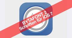 Bytafont 2 für iOS 7: iPhone Schrift & Schriftart verändern - http://apfeleimer.de/2014/01/bytafont-2-fuer-ios-7-iphone-schrift-schriftart-veraendern - Bytafont 2 für iOS 7 ermöglicht die Nutzung von eigenen Schriften & Schriftarten auf dem iPhone oder iPad mit entsprechendem Jailbreak. Bytafont 2 wird für iOS 7 als komplett neues Paket in Cydia (ModMyi Repo) kostenlos zum Download bereitgestellt, zum aktuellen Zeitpunkt werden die By...