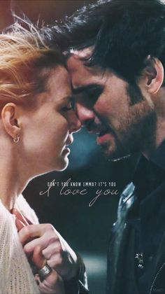 """Captain Swan - Emma's first """"I love you"""".... #OUAT"""