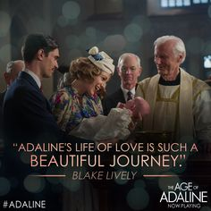 Witness #Adaline's century long journey brought to life by the stunning Blake Lively. See The Age Of Adaline, in theaters now!