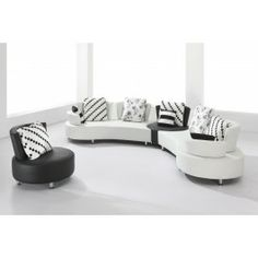 2803 Ultra modern sectional sofa set - 1725.0000
