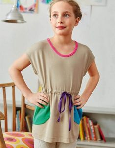 Tunika s puntíky | Burda Style