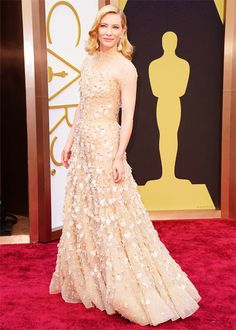cate blanchett | 86th annual academy awards | march  2014 | via a gentlewoman