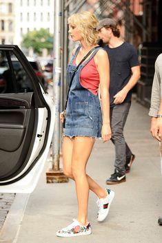 Taylor Swift Celebrity Sneakers Style