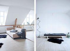 minimalist, living space, contrast