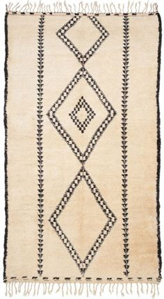 treat your feet with a plush bedside rug - vintage moroccan with a hit of gray & just the right amount of pattern - Madeline Weinrib Textiles, Fabric Rug, Contemporary Home Decor, Textures Patterns, Fabric Patterns, Soft Furnishings, Woven Rug, Decoration, Floor Rugs