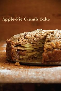 Apple-Pie Crumb Cake: A delicious combination of 2 fall favorites.