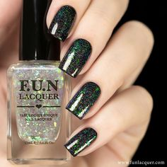 Add some multicolored flakies and gorgeous holo glitter to any mani and feel like a mystical being with this polish. This lacquer can be topped on any color! Collection: 2nd Anniversary Collection