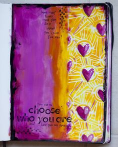 You get to choose who you are and how you see yourself.