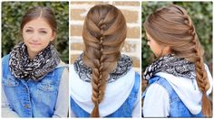 The Tuxedo Braid! Images and video tutorial!