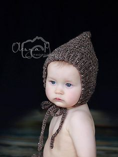 Ribbed Pixie Bonnet-pattern to purchase