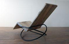 Bascule Chair w/ Foot Rest - André Joyau